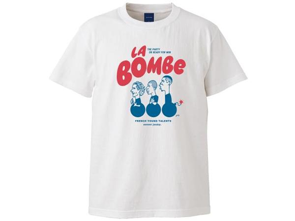 サッカージャンキー:La bombe 半袖TEE