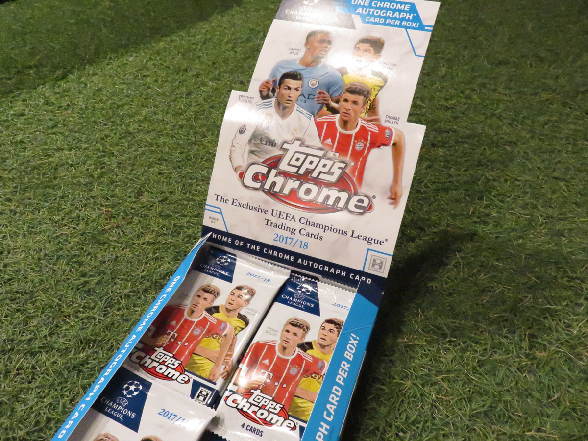 UEFAチャンオンズリーグトレーディングカード2017-2018
