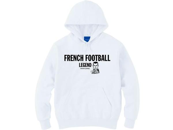 サッカージャンキー:FRENCH FOOT プルパーカー